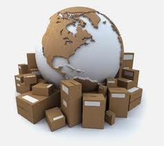 international import or export freight packing