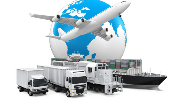 sea freight shipping import or export